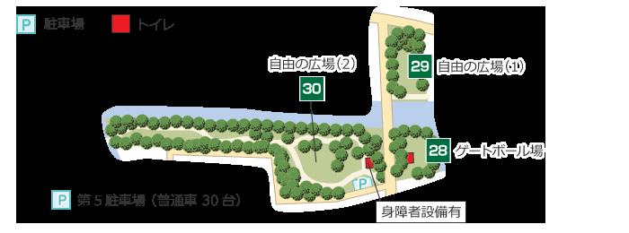 近隣広場ゾーン詳細地図
