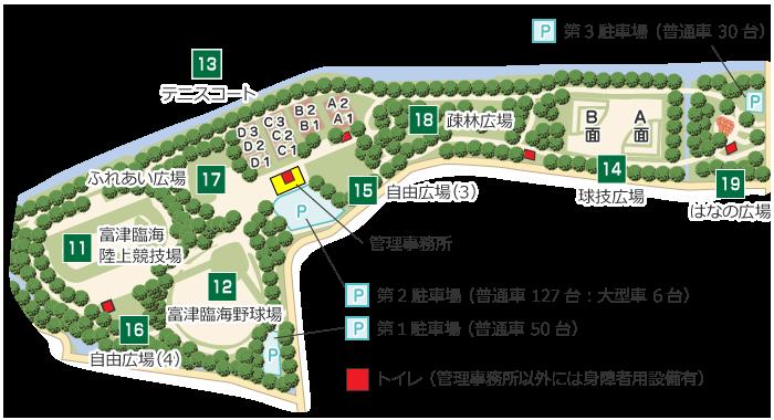 スポーツゾーン詳細地図