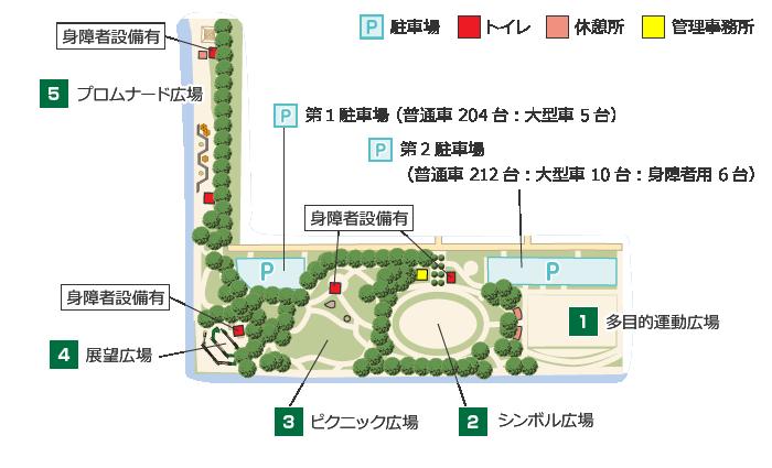 富津みなと公園詳細地図