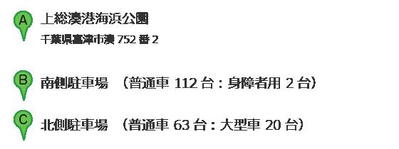 上総湊港海浜公園 住所