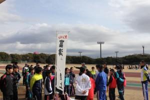「ふれあいジュニア陸上教室」参加者たち