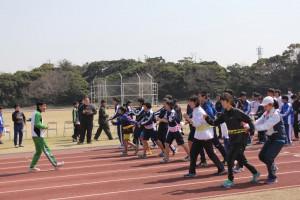 走るホームの姿勢  体幹トレーニング