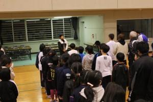 富津市スポーツ推進委員連絡協議会 渡辺 会長あいさつ