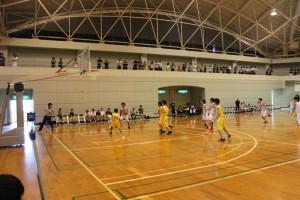 富津市総合社会体育館(バスケットボールの部)