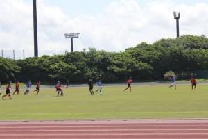 富津臨海陸上競技場(サッカーの部)