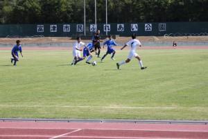 サッカー 準決勝戦