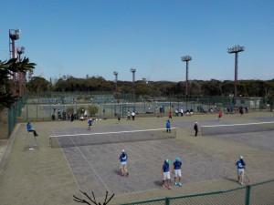テニスコート利用状況 3