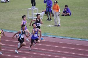 男子100m予選