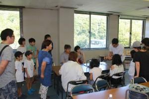 大橋講師による電熱ペンの取扱説明