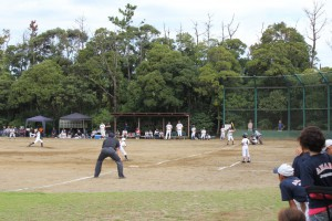 富津市教育長杯争奪少年野球大会 球技広場