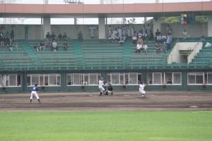 君津支部中学校新人体育大会(野球の部) 富津臨海野球場