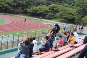 君津支部中学校新人体育大会(サッカーの部) 富津臨陸上競技場