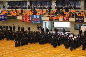 剣道大会 礼に始まり・・