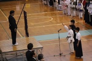 各競技代表者 選手宣誓
