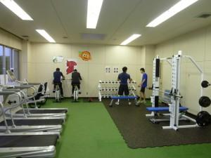 トレーニング風景