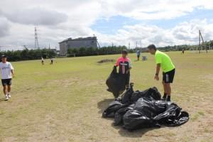 清掃ボランティア結果