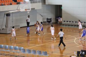 新人体育大会(バスケットボール)