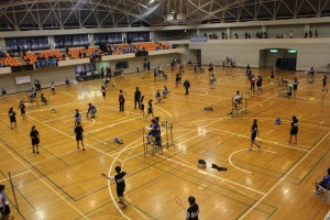 君津支部中学校新人体育大会(バドミントンの部)1