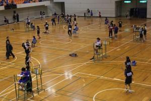 君津支部中学校新人体育大会(バドミントンの部)2