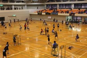 君津支部中学校新人体育大会(バドミントンの部)3