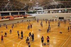 君津支部中学校新人体育大会(バドミントンの部)4